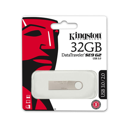 Kingston 32GB DataTraveler SE9 G2 USB 3.0 Flash Drive - DTSE9G2 - Saudi Arabia
