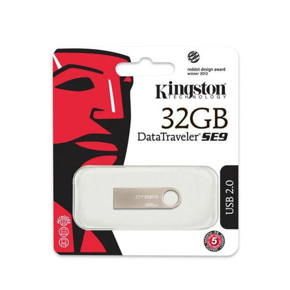 Kingston DataTraveler SE9 32GB USB 2.0 - Saudi Arabia