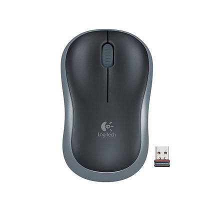 Logitech M185 Wireless Mouse, Swift Gray - Saudi Arabia