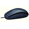 Logitech M90 Optical Wired Mouse - Black