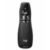 Logitech R400 Wireless Presenter, Black (910-001356)