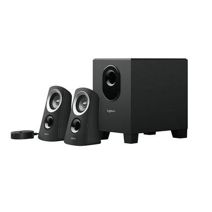 Logitech Z313 Speaker With Subwoofer - Black - Saudi Arabia