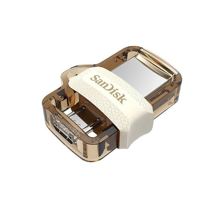 SanDisk OTG-Enabled m3.0 Ultra Dual Drive Gold Edition - SDDD3 - Saudi Arabia