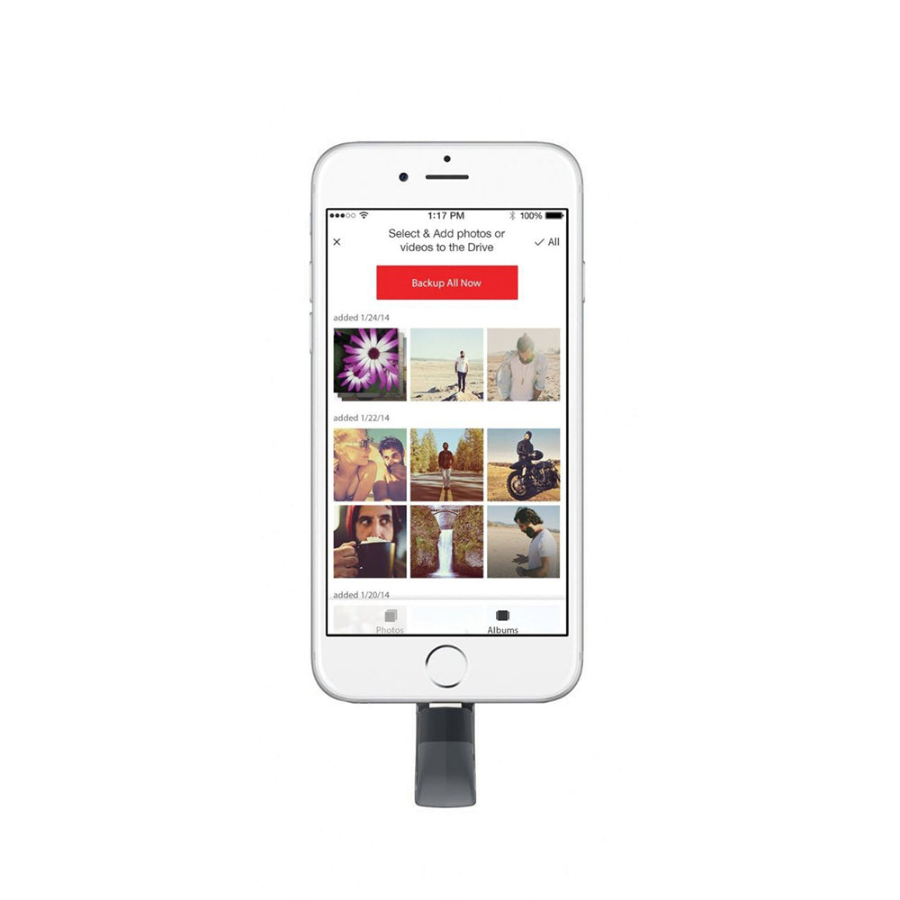 SanDisk iXpand Flash Drive for iPhone and iPad 128GB - SDIX30C-128G