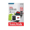 SanDisk Ultra 128GB MicroSDXC UHS-I Card with Adapter 100MB/S