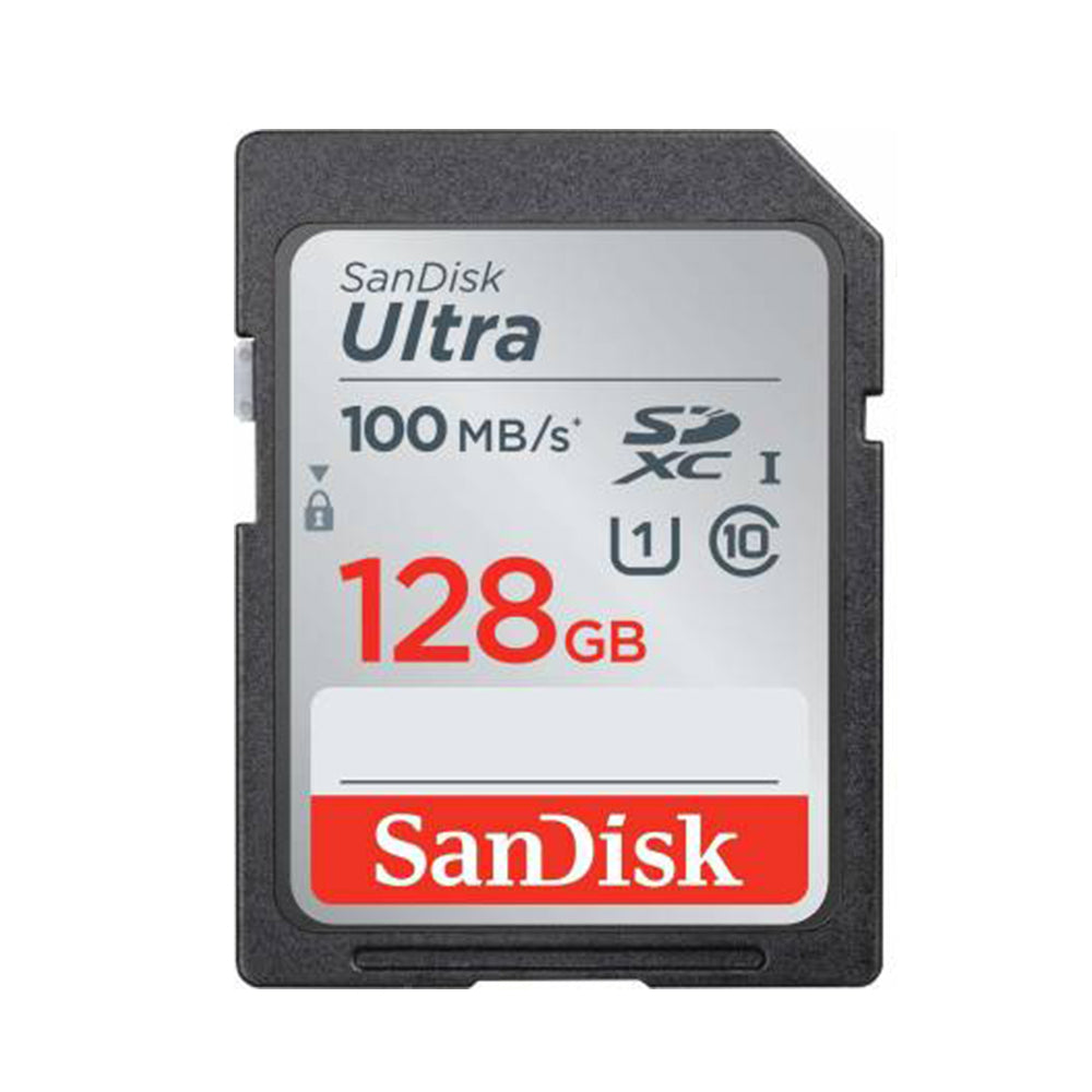 SanDisk Ultra 128GB SDXC Class 10 100MB/s Memory Card