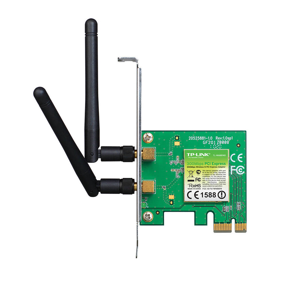 TP-Link TL-WN881ND 300 Mbps Wireless N PCI Express Adapter