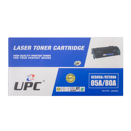UPC 05A Black Laser Toner Cartridge (CE505A) - Saudi Arabia