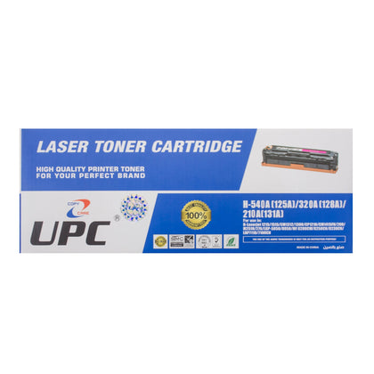UPC 131A Compatible Laser Jet Toner Cartridge Black (CF210A) - Saudi Arabia