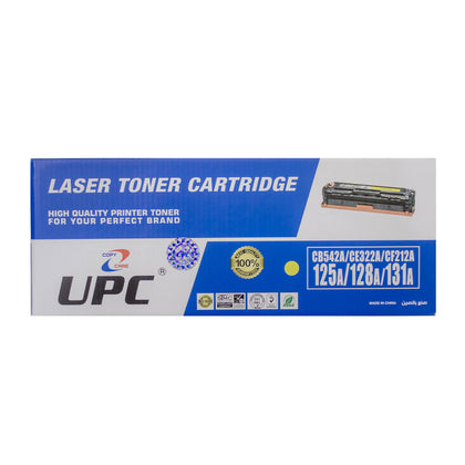 UPC 131A Compatible Laser Jet Toner Cartridge Yellow (CF212A) - Saudi Arabia
