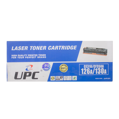 UPC 130A l 126A Compatible Toner Cartridge, Black - Saudi Arabia