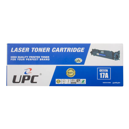 UPC 17A Black Laser Toner (CF217A) Compatible with HP Laser Printers - Saudi Arabia
