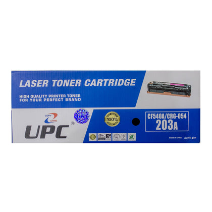 UPC 203A l CRG-054 Black Compatible Toner Cartridge  (CF540A) - Saudi Arabia