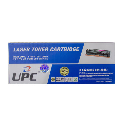 UPC 203A l CRG-054 Yellow Compatible Toner Cartridge  (CF542A) - Saudi Arabia