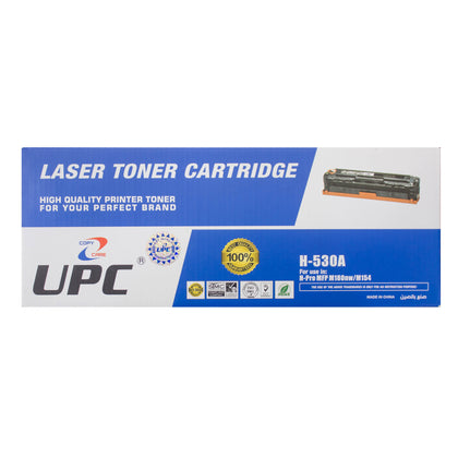 UPC 205A Laser Toner Cartridge Black (CF530A) Compatible with HP Laser Printers - Saudi Arabia