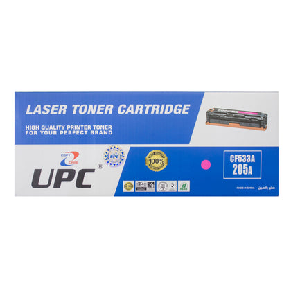 UPC 205A Laser Toner Cartridge Magenta (CF533A) Compatible with HP Laser Printers - Saudi Arabia
