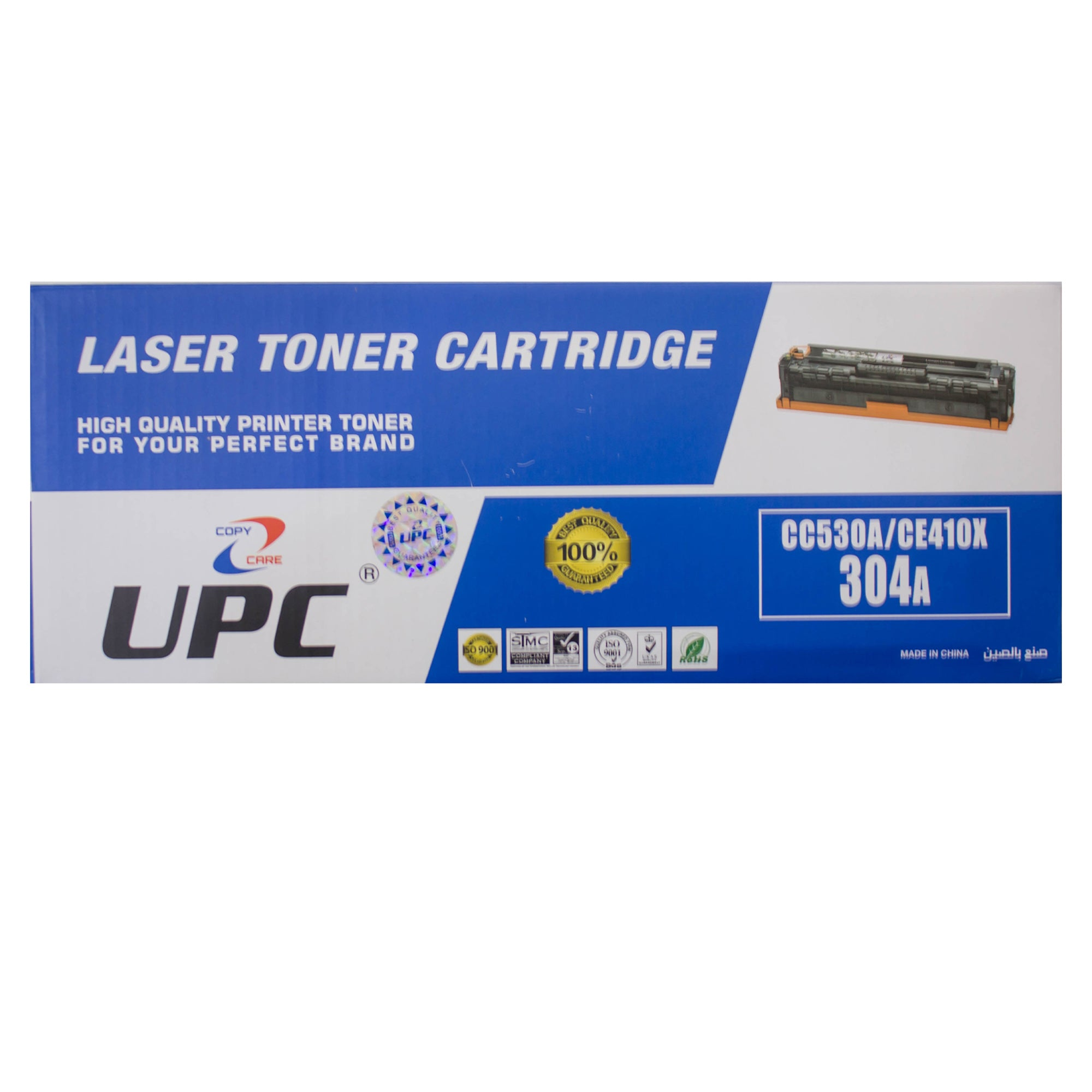 UPC 304A / 305A Laser Toner Cartridge Black (CC530A / CE410X) Compatible with HP Laser Printers