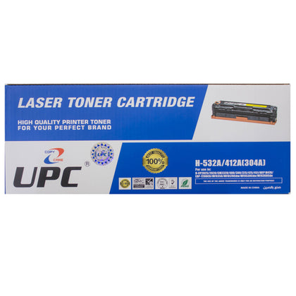 UPC 304A / 305A  Laser Toner Cartridge Yellow (CC532A / CE412A) Compatible with HP Laser Printers - Saudi Arabia