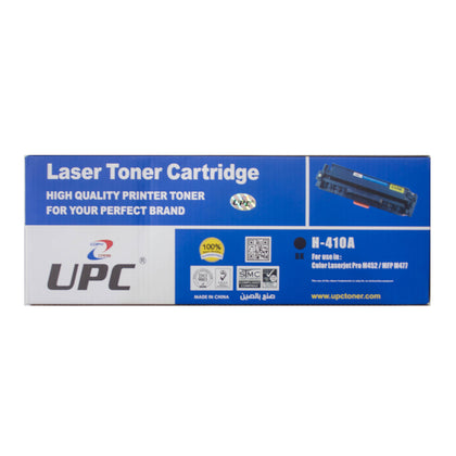 UPC 410A Laser Toner Cartridge Black (CF410A) Compatible with HP Laser Printers - Saudi Arabia