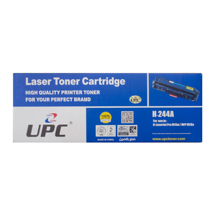 UPC 44A Laser Toner Cartridge Black (CF244A) Compatible with HP Laser Printers - Saudi Arabia