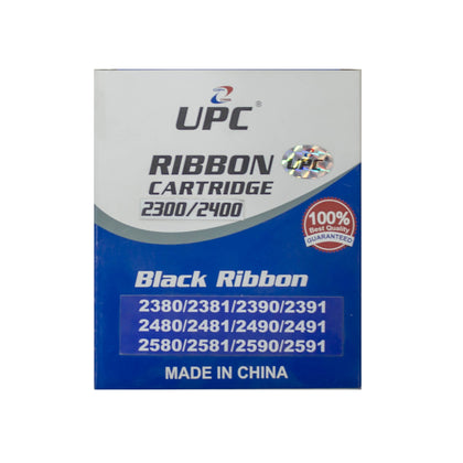 UPC 2300 l 2400 Black Ribbon Compatible with Lexmark 2300/2400/2500 Series - Saudi Arabia