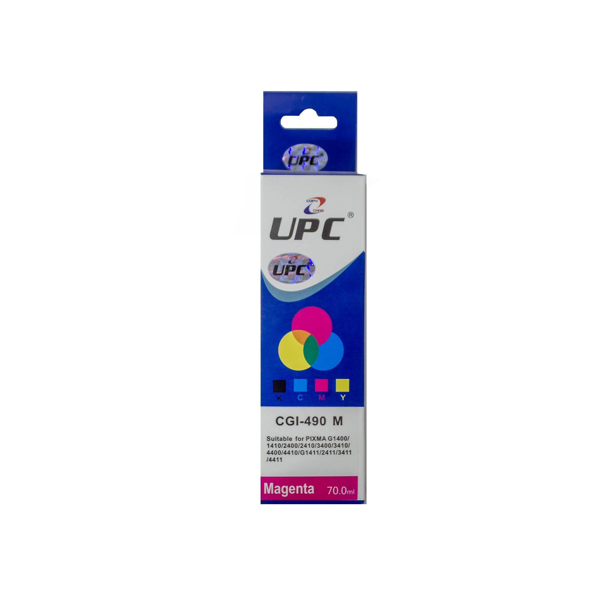 UPC GI-490 Magenta Compatible Ink Bottle Replacement For Canon Printers