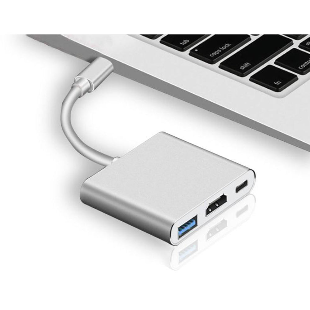 USB Type C To HDMI USB 3.0 Charging Adapter Converter USB-C 3.1 Hub Adapter for MacBook Pro