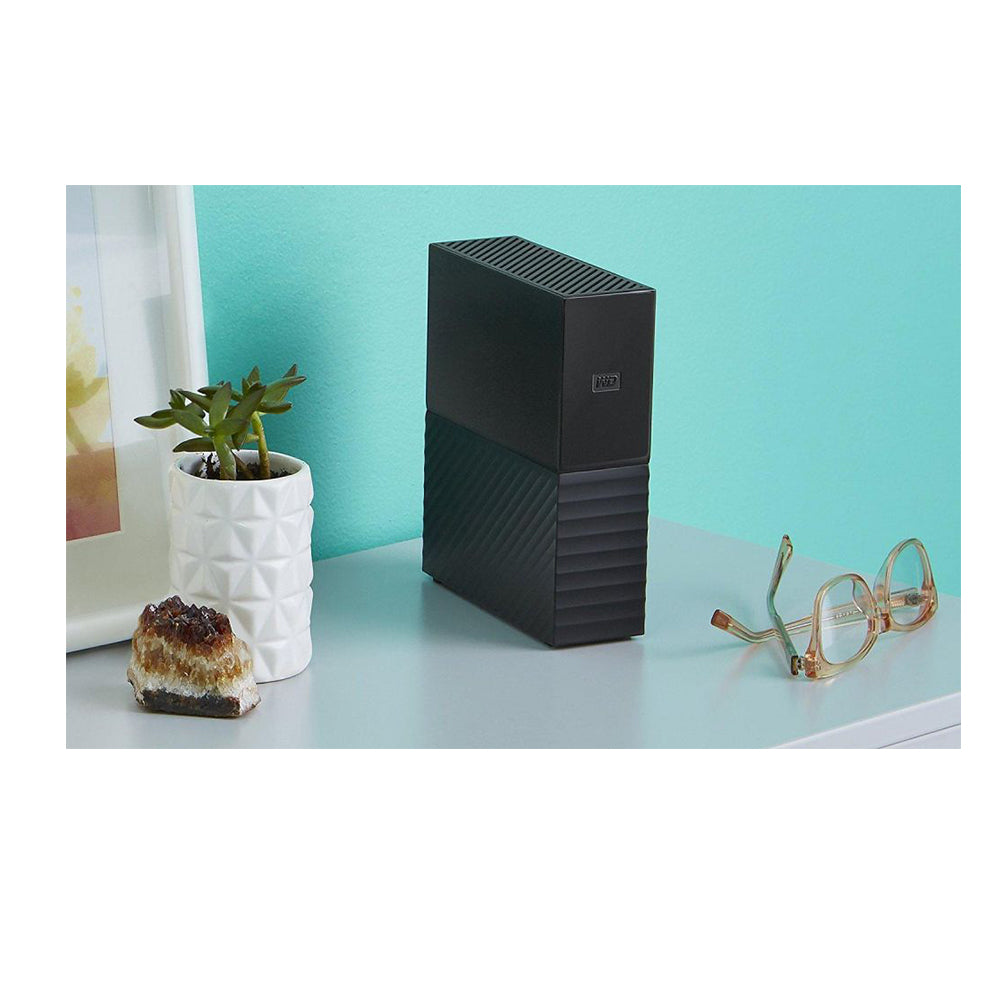 WD 8TB My Book Desktop External Hard Drive USB 3.0 - WDBBGB0080HBK