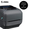 Zebra GK420t - Compact Thermal Transfer Desktop Label Printer