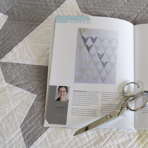 Curated Quilts Issue #3 Minimalistic