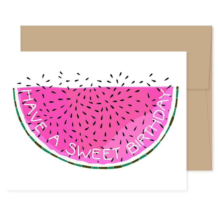 Birthday Watermelon Card