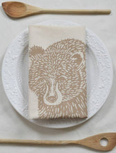Load image into Gallery viewer, Bear Tea Towel (Brown)