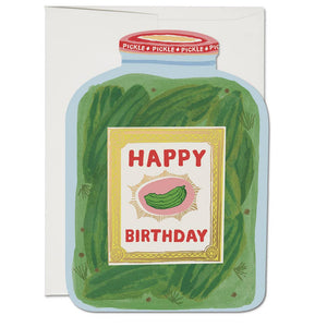 Pickle Birthday Card