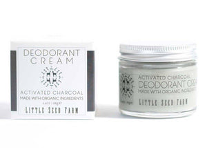 Activated Charcoal Deodorant Cream