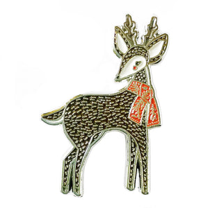 Merriment Deer Enamel Pin