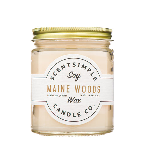 Maine Woods Soy Wax Candle