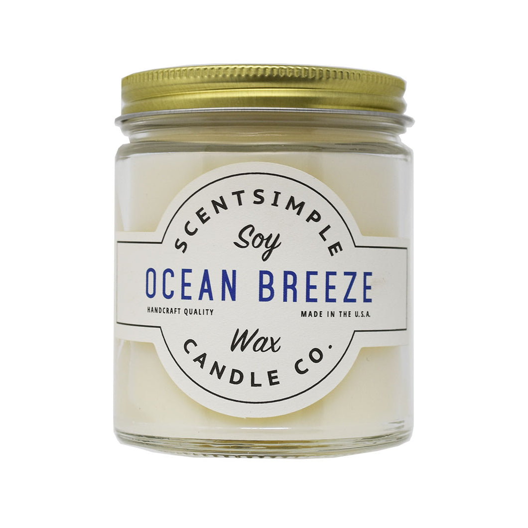 Ocean Breeze Soy Wax Candle