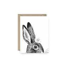 Load image into Gallery viewer, Clement Rabbit Card