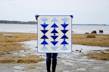 Load image into Gallery viewer, Cormorant Baby Quilt