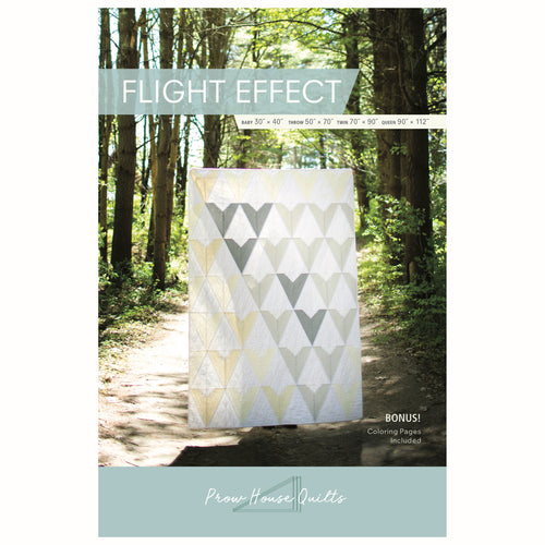 Flight Effect Quilt Paper Pattern