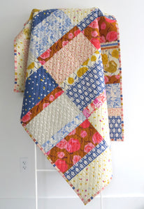 Cormorant Throw Quilt