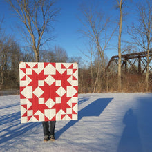 Load image into Gallery viewer, Sugar Shack Quilt Paper Pattern