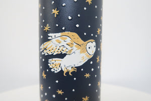 Night Owls Stainless Steel Insulated Water Bottle