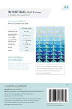 Load image into Gallery viewer, Intertidal Quilt Paper Pattern