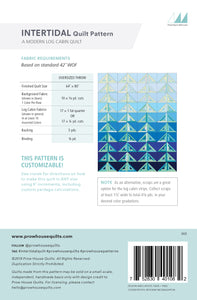 Intertidal Quilt Paper Pattern