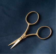 Load image into Gallery viewer, Fine Work Gold Scissors