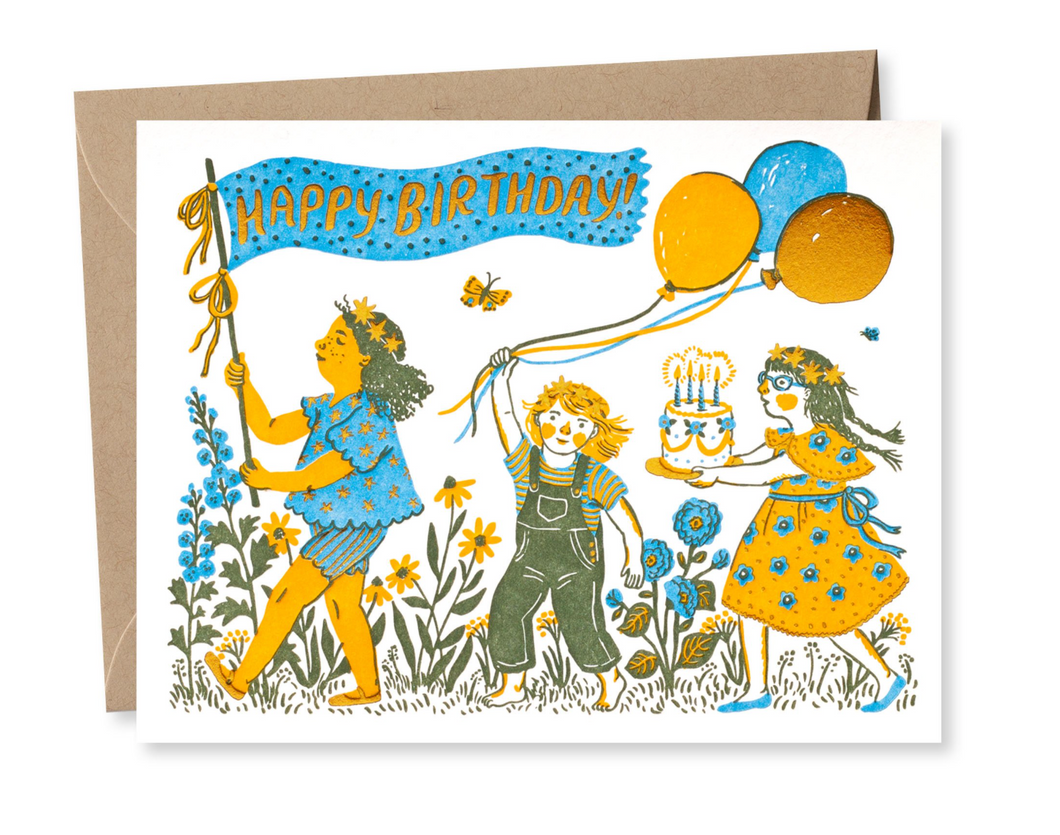 Birthday Parade Card