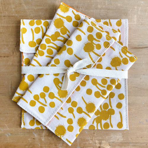 Gold Berries Snack Bag Set