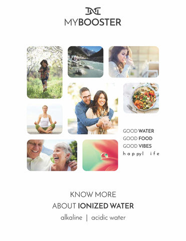 Alkaline Ionized Water Book