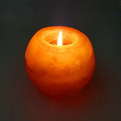 Himalayan Light Natural  Candle Holder